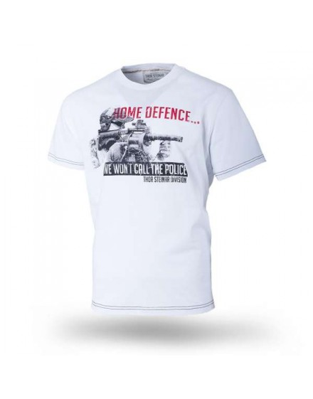 Triko Thor Steinar Home Defence bílé
