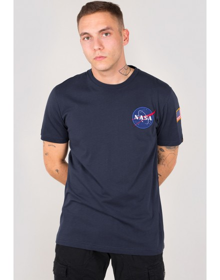 Pánské triko Alpha Industries Space Shuttle T blue