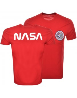 Pánské triko Alpha Industries Apollo 15 T red