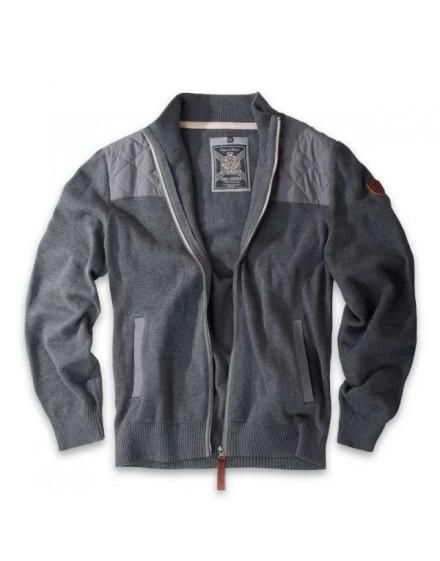 Thor Steinar svetr na zip Hemsedal grau