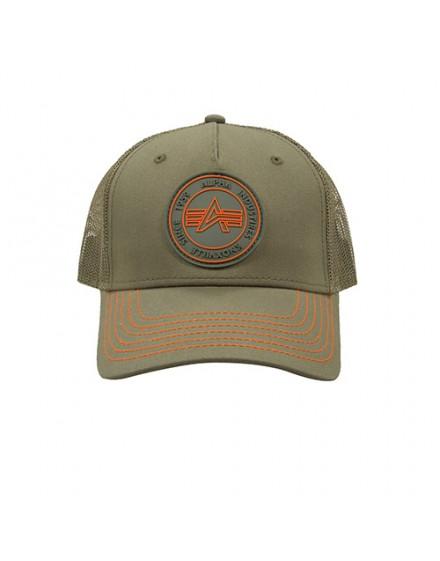 Alpha Industries Trucker Patch Cap dark green