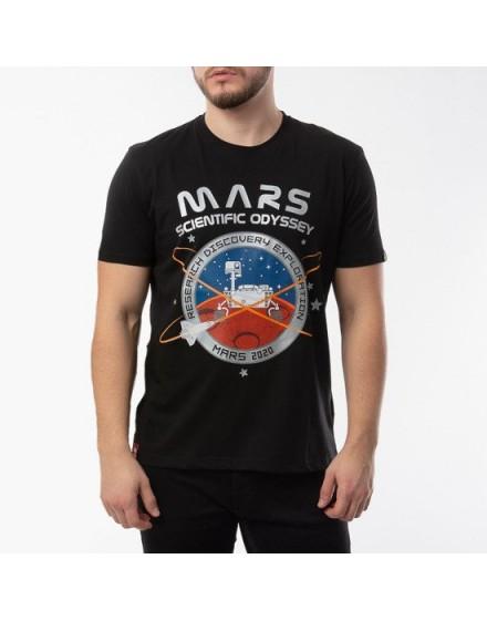 Alpha Industries pánské triko Mission To Mars black