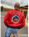 Alpha Industries pánský bomber MA-1 LW Mission To Mars speed red