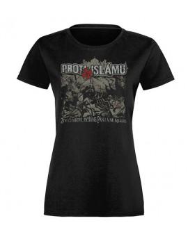 Dámské tričko Rowdie Proti islamizaci Evropy