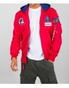 Alpha Industries pánský bomber MA-1 TT Hood NASA red