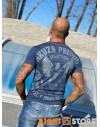 Yakuza Premium pánské triko YPS 2816 dunkelblau