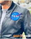 Alpha Industries pánský kožený bomber MA-1 LW NASA Leather