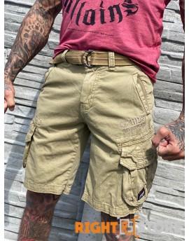 Kapsáčové šortky Yakuza Premium YPSH2261 sand