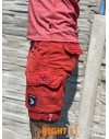 Alpha Industries Crew Short Patch red