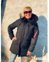 Alpha Industries dámská zimní bunda Polar Jacket all black