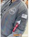 Alpha Industries pánský bomber MA-1 NASA Rainbow Ref.