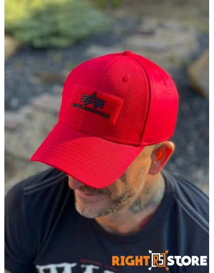 Alpha Industries  Cap VLC II speed red