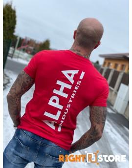 Alpha Industries pánské triko Backprint