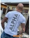 Alpha Industries pánské triko Backprint Reflective Print