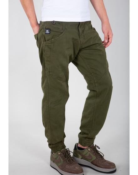Alpha Industries pánské kalhoty Major Pant black oliv