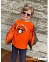 Dětské triko Tučňák orange
