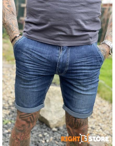 Thor Steinar pánské džínové šortky Varangar darkblue