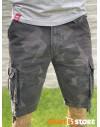 Thor Steinar pánské šortky Bard (sand-camo, anthra-camo)