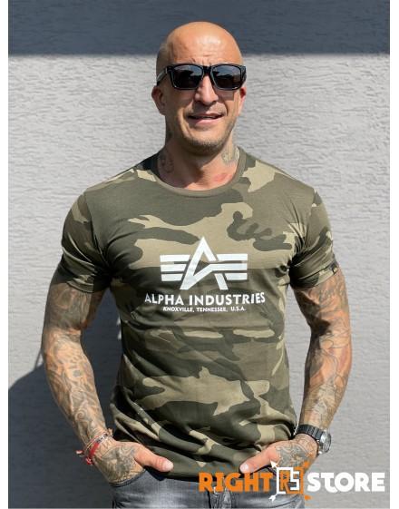 Alpha Industries Basic T-Shirt olive camo