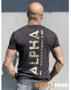 Alpha Industries pánské triko Backprint T Camo Print