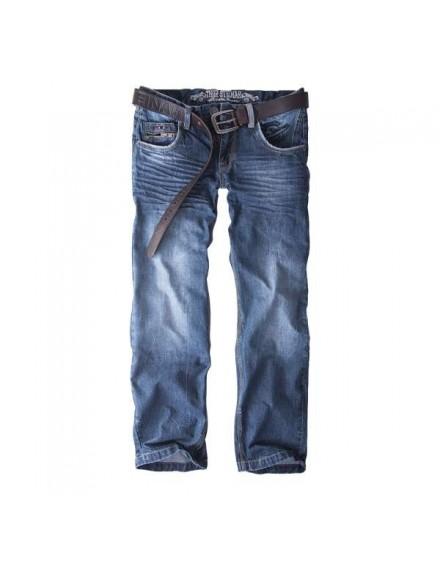 Jeans Keldur tmavé