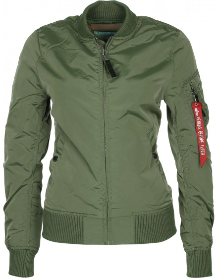 Dámská jarni bunda MA-1 TT Wmn sage-green